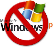 Microsoft stellt den Support für Windows XP ein